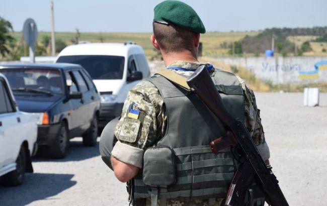 """На адмінкордоні з Кримом затриманий бойовик """"ДНР"""""""