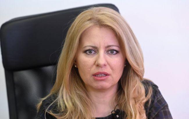 Україну відвідає президент Словаччини