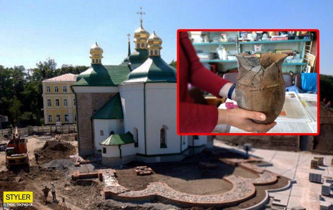 У центрі Києва під церквою виявили поселення, якому три тисячі років (фото)