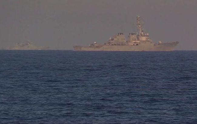 В Черном море прошли военные учения при участии Украины, США и Румынии