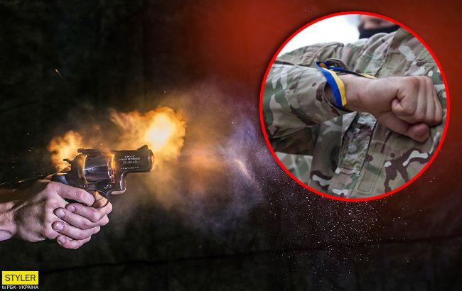 В Киеве военный подстрелил ветерана АТО из-за безобразий на детской площадке