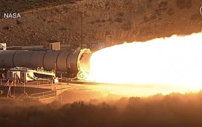 Фото: Ракета для полетов на Марс (Кадр из видео)