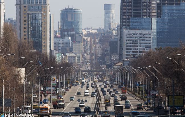 Київ скували численні затори