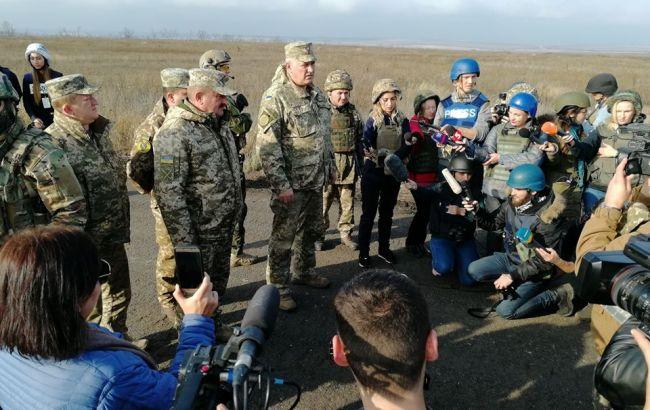 Украина обвинила боевиков в срыве разведения в Петровском