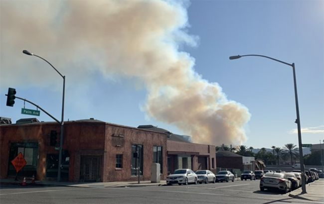 У Каліфорнії через лісову пожежу евакуювали кіностудію