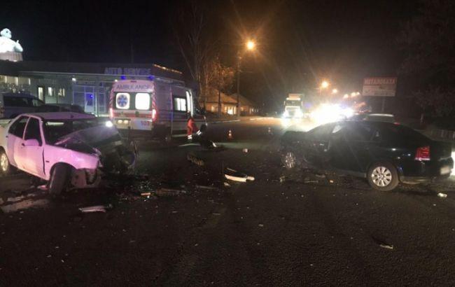 На трассе Киев-Харьков произошло ДТП, есть пострадавшие