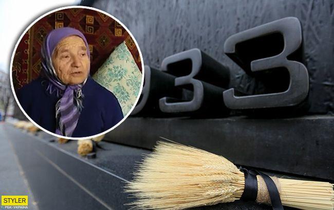 По селу збирали мертвих: 91-річна українка розповіла, як пережила Голодомор (відео)