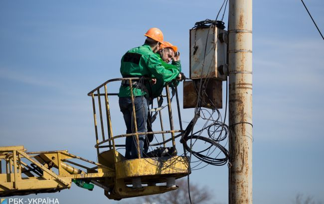 У Мар'їнці відновлять електропостачання