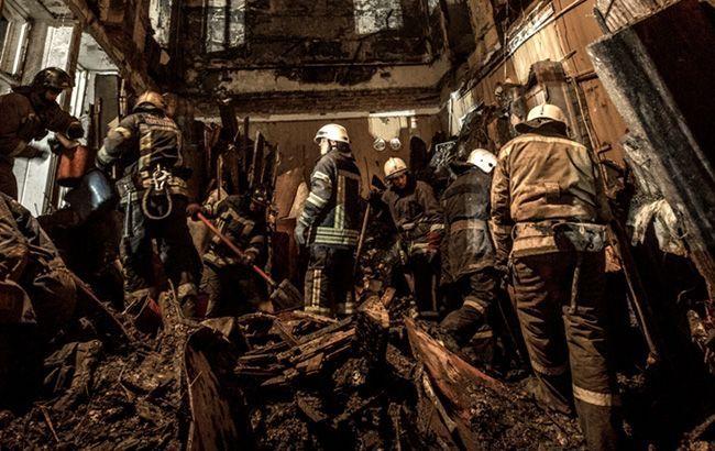 После пожара в колледже в Одессе остаются пропавшими без вести 8 человек