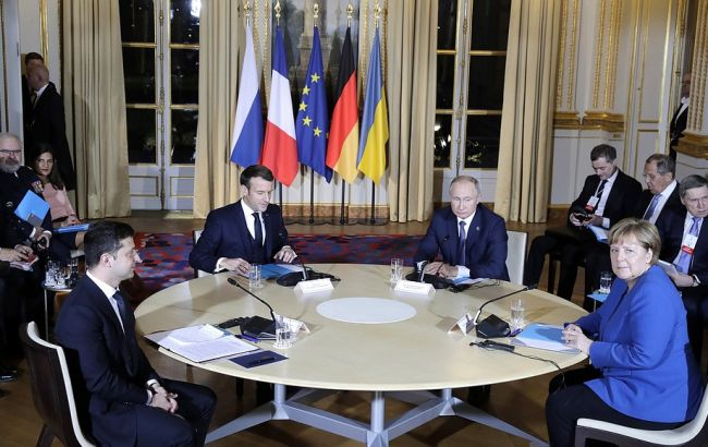 Нормандская встреча: лидеры обсуждают итоговый документ