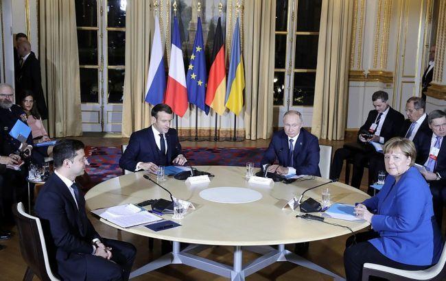 В Кремле заявили о разговоре на повышенных тонах на нормандском саммите