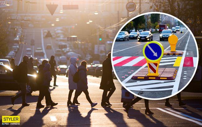 """Заставят платить даже наследников: вУкраине отменили принцип""""пешеход всегда прав"""""""