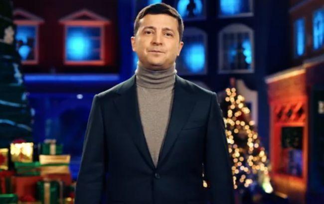 """В Atlantic Council проанализировали """"нетрадиционное"""" новогоднее обращение Зеленского"""