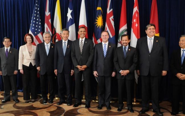 Країни Транстихоокеанського партнерства підписали торгову угоду на чолі з США