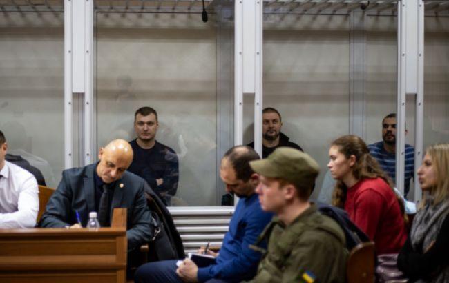 """Суд отпустил экс-""""беркутовцев"""", обвиняемых в расстрелах на Институтской"""