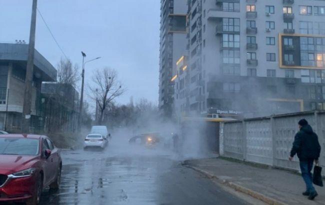 У Києві стався ще один прорив тепломережі