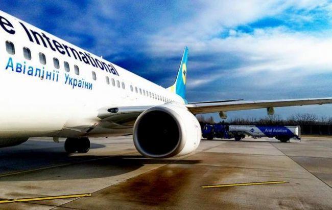 Количество взлетов и посадок в украинских аэропортах увеличилось на 9,3%