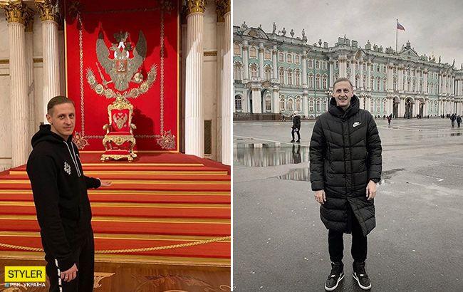 Украинского футболиста выгнали из клуба за демонстративнуюпоездку в Россию