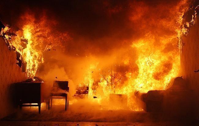 У Дніпропетровській області в пожежі загинула дитина, ще двоє дітей госпіталізовані