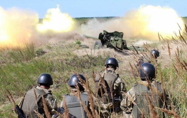 Фото: война на Донбассе