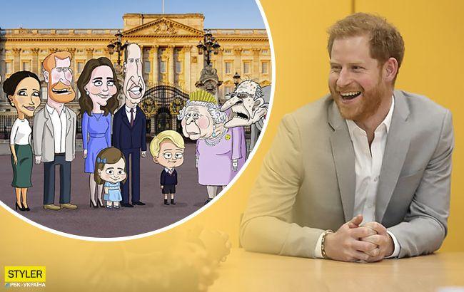 О королевской семье снимут мультик: принца Гарри озвучит звезда Голливуда