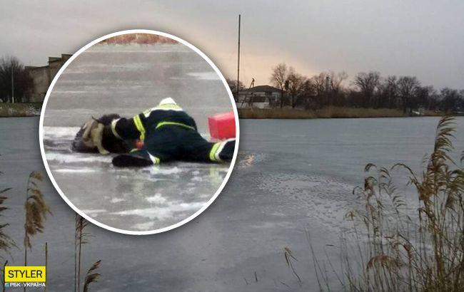Под Херсоном отец с 5-летним сыном провалились под лед: удалось спасти только одного