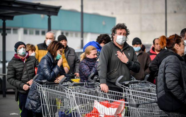 В Италии увеличилось число жертв коронавируса