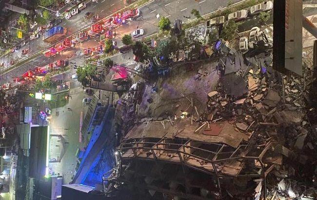 В Китае обрушилась гостиница, которую использовали как здание для карантина