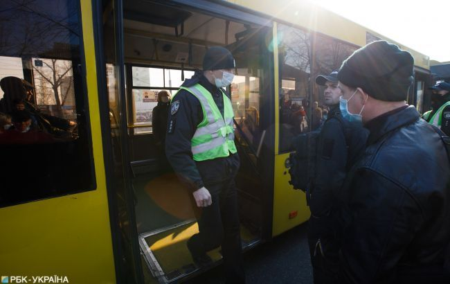 Полиция составила 923 админпротокола за нарушение карантина в Украине