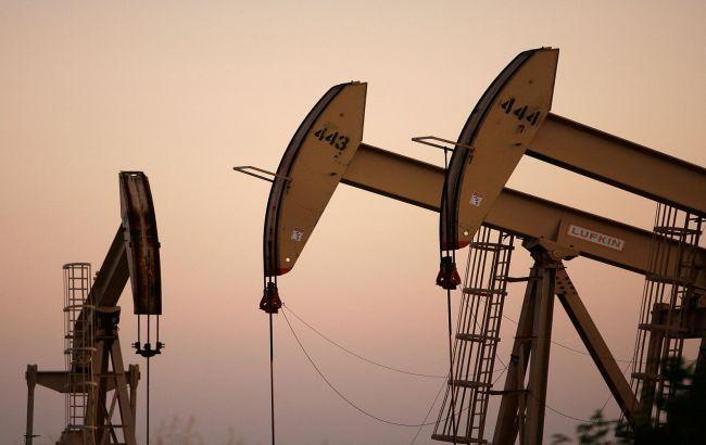 Цена на нефть Brent, когда стали падать