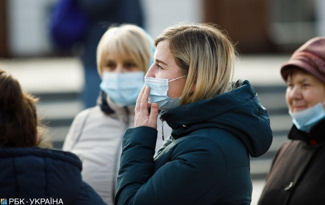 В Украине зафиксировано 1096 случаев инфицирования коронавирусом