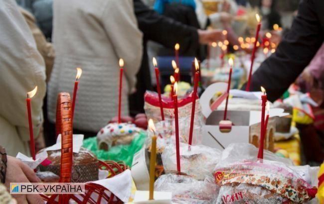 До храмів на Великодню ніч прийшло 130 тис. людей, - поліція
