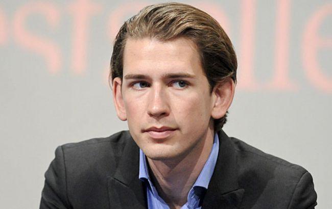 Фото: міністр закордонних справ Австрії Себастьян Курц