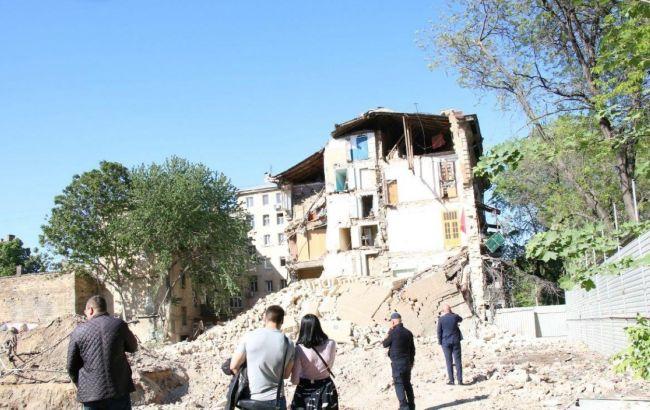 В Одесі обвалилася частина житлового будинку