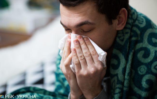 У Києві знизилася кількість хворих на грип і ГРВІ