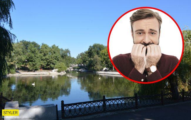 Український парк окупували мільярди шкідників: падають людям на голови