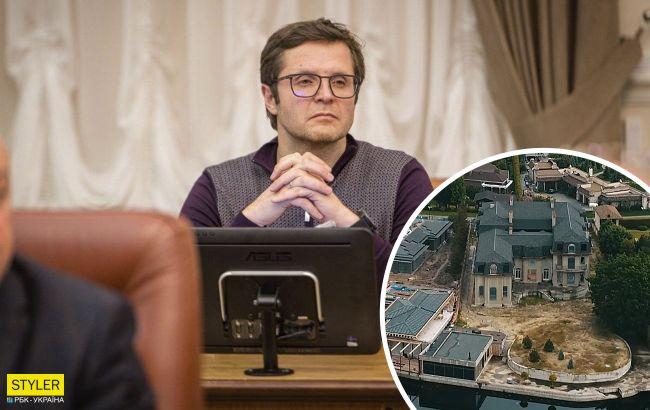"""У скандального """"Слуги народа"""" нашли грандиозный особняк под Киевом: появилось фото"""