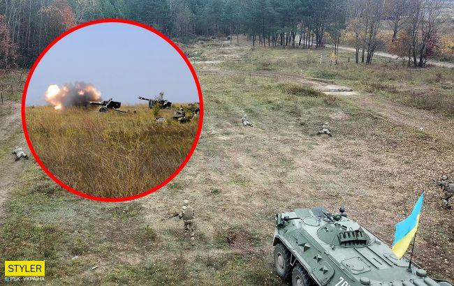 От возмездия не убежали: появилось видео мощного удара по оккупантам на Донбассе