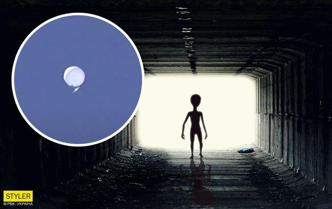 НЛО в Японії потрапив на відео: об'єкт покружляв і розтанув у небі