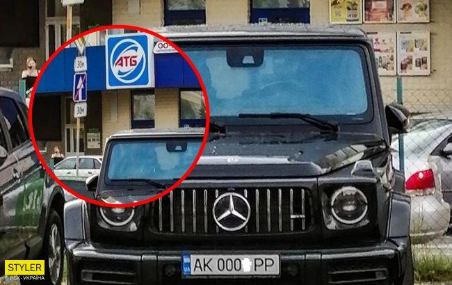 В Киеве заметили дорогущее авто на крымских номерах: красиво и патриотично (фото)