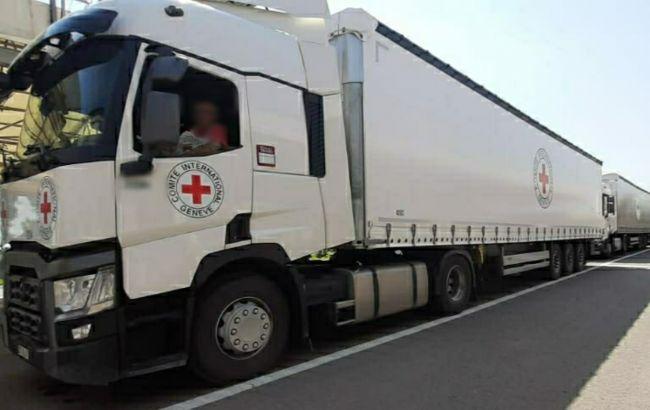 Из Киева в Донецк отправились 5 фур с гумпомощью для местных жителей