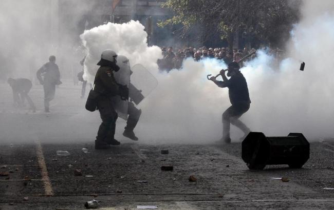 Фото: протести в Греції
