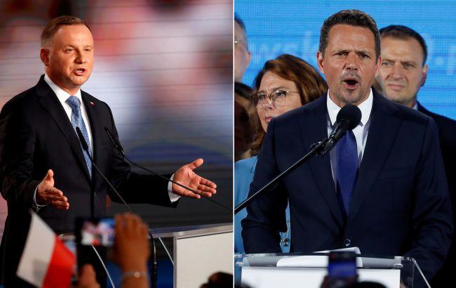 У Польщі розпочався другий тур президентських виборів: кандидати мають рівні шанси