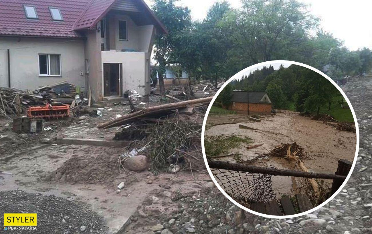 На Прикарпатье разгорелся скандал из-за денежной помощи после наводнения
