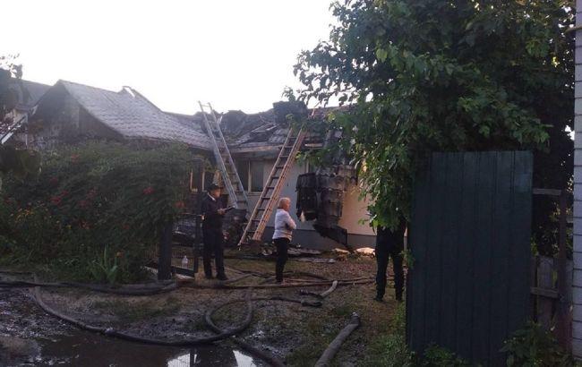 Шабунін заявив про підпал будинку, поліція встановлює обставини
