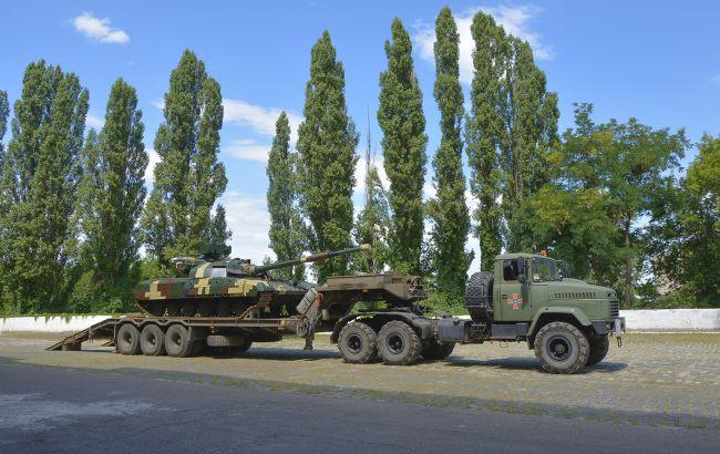 """ЗСУ отримали два оновлених танка """"Булат"""""""