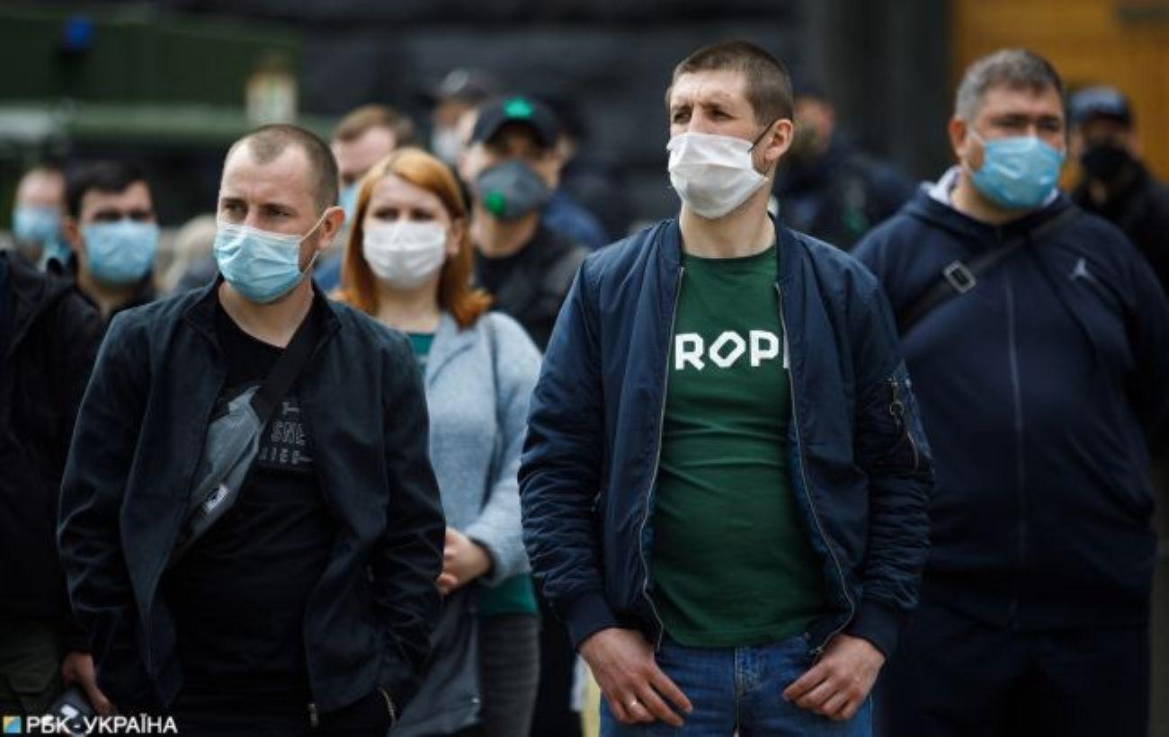 В Украине за сутки более 1100 новых случаев COVID-19