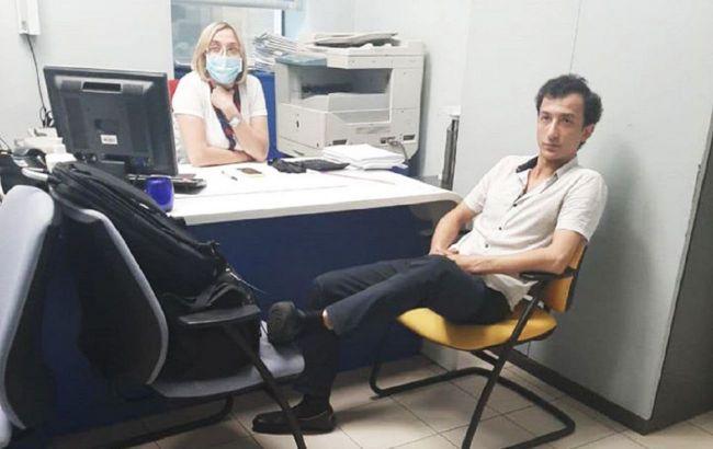 Захватчик банка в Киеве состоял на учете в психбольнице