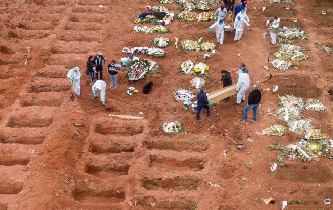 У Бразилії оголосили жалобу за жертвами COVID-19