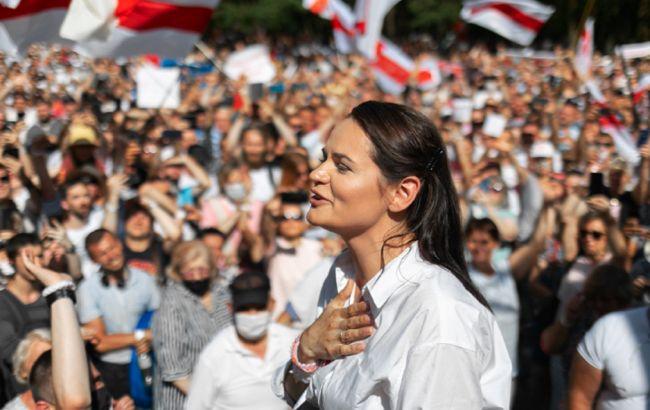 Тихановская заявила, что не будет принимать участия в протестах